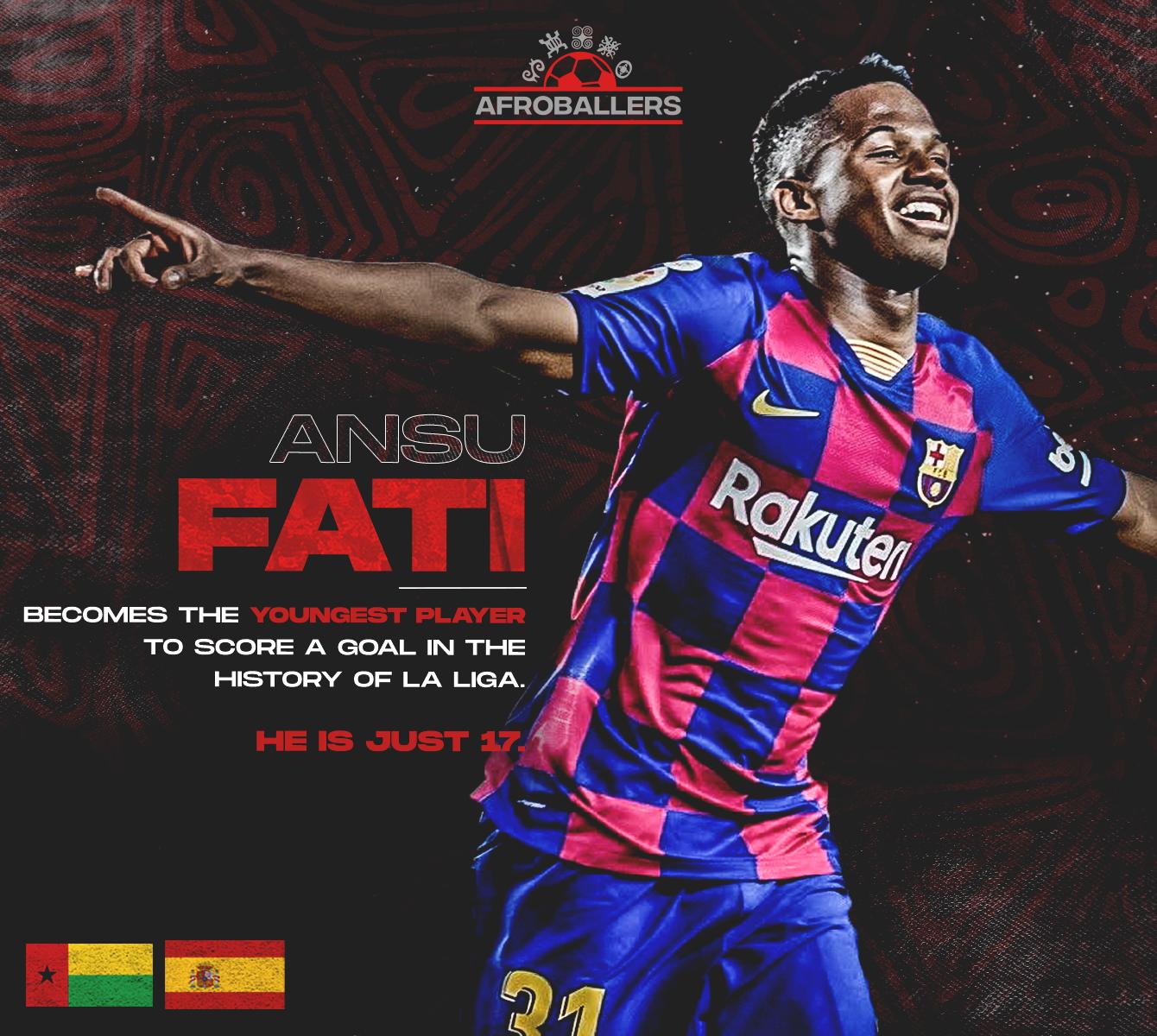 Ansu Fati Scored Twice To Help Barcelona Win Over Levante Afroballers